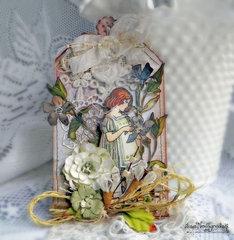 Fairy Tag **Scraps of Elegance & Tresors deLuxe**