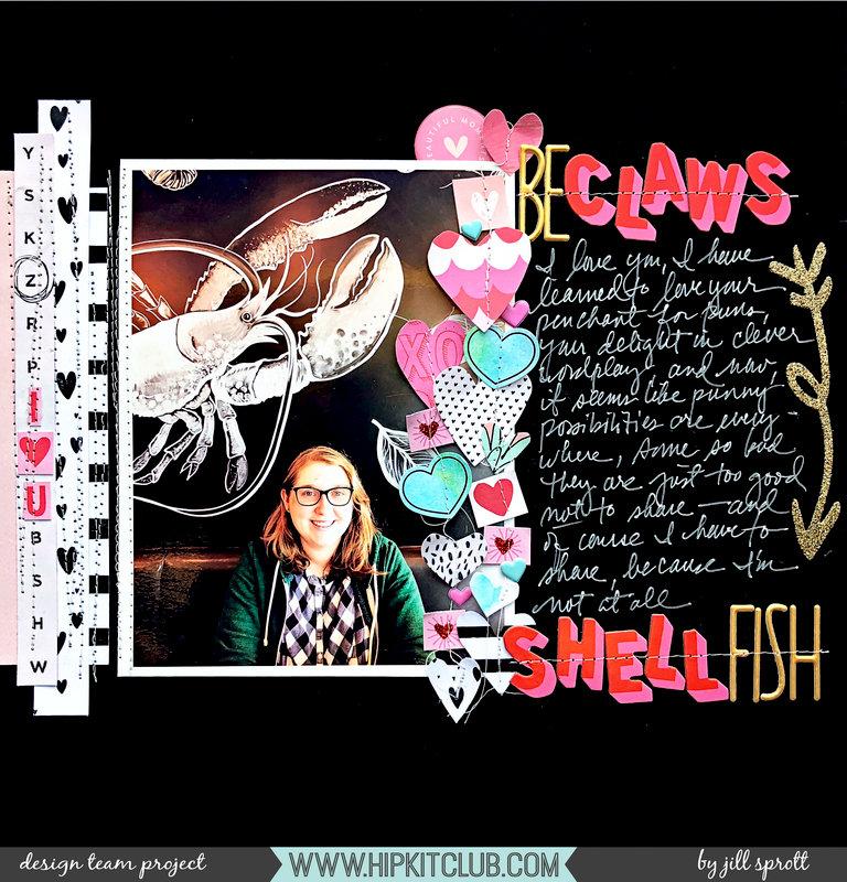 BeCLAWS...SHELLfish