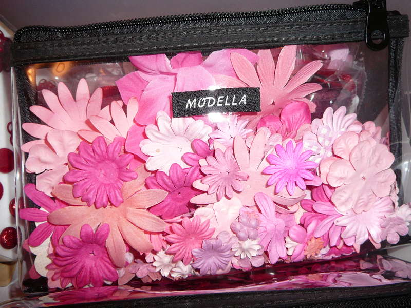 Makeup Bag for Flowers