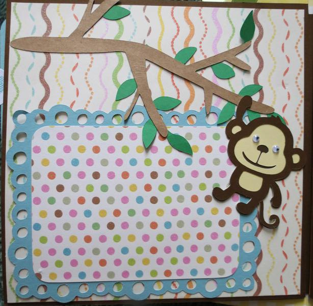 Baby Album Page, Create-A-Critter