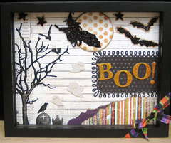 Boo! Shadow Box