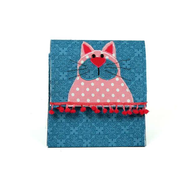 Fabric Cat Gift Box