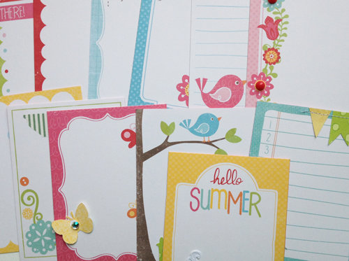 Summer Journaling Cards