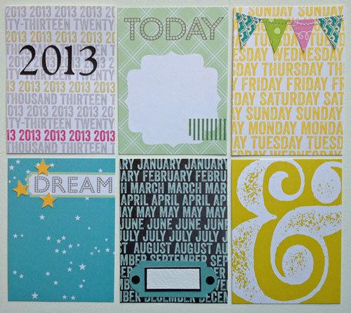 Journaling cards - 2013