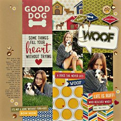 Woof Layout by Summer Fullerton