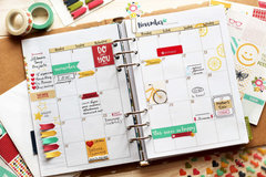 Planner Inspiration featuring Jillibean Soup Day2Day Collection