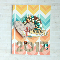 Happy 2017 Card by Amy Coose