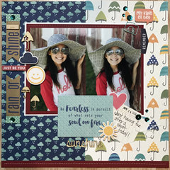 Rain or Shine Layout by Latrice Murphy for Jillibean Soup