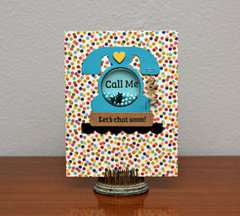 Call Me Card by Summer Fullerton