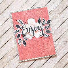 Enjoy Card by Zsoka Marko