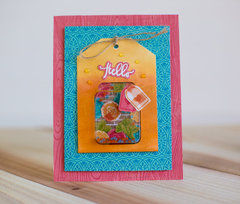Hello Card by Rebecca Keppel