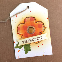 Thank You Shaker Tag by Kristine Davidson