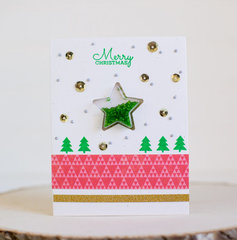 Merry Christmas Card by Rebecca Keppel