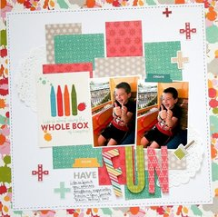 Have Fun Layout by Wendy Antenucci