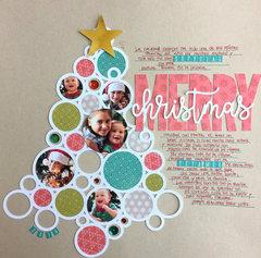 Merry Christmas Layout by Caroli Schulz