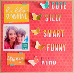 Cute Silly Smart Funny Kind by Rebecca Keppel