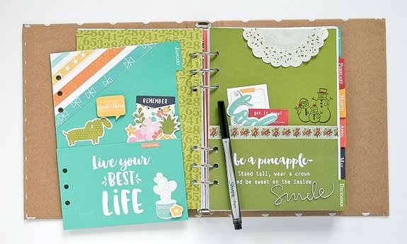 December & January Inserts by Wendy Antenucci
