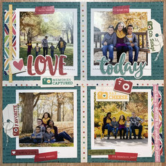 Love Today Layout by Latrice Murphy for Jillibean Soup