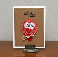 Love Ya Card by Summer Fullerton