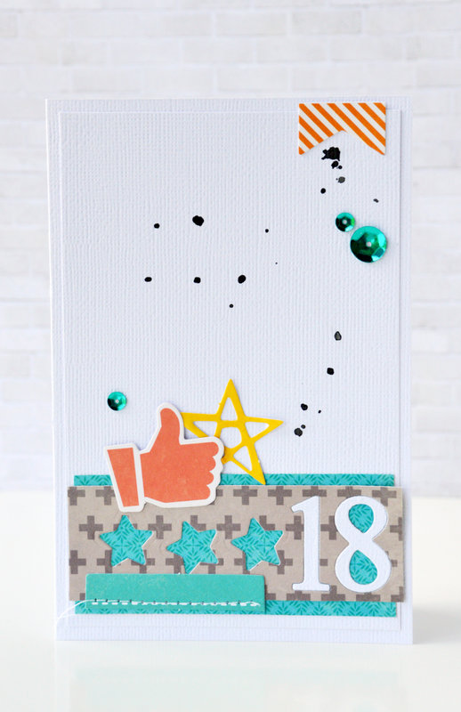 18 Card by Leanne Allinson