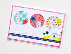 Happy Day Card by Leanne Allinson for Jillibean Soup