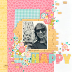 Happy Layout by Christine Meyer for Jillibean Soup