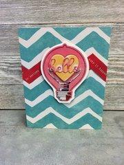 Hello Be Awesome Card by Patty Folchert for Jillibean Soup