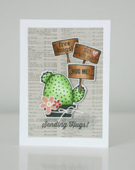 Sending Hugs! Card by Jaclyn Rench for Jillibean Soup
