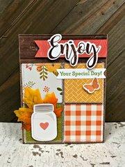 Enjoy Your Day card by Patty Folchert