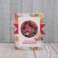 You Are My Sunshine card by Summer Fullerton