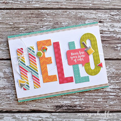 Hello Card by Amy Sheffer