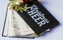 Wood Veneer Tag Christmas Lists by Jaclyn Rench