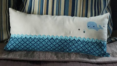 Whale Pillow by Jenifer Harkin