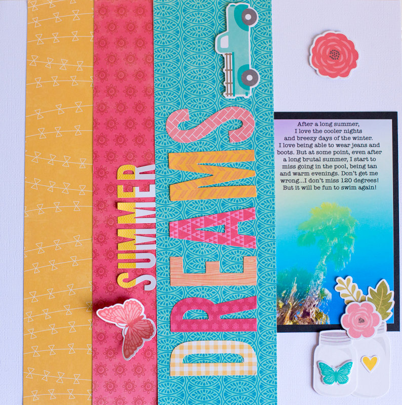 Summer Dreams Layout