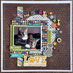 Best Buddies Layout by Kristine Davidson
