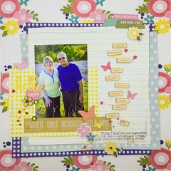 Hello Happy Layout by Diane Payne for Jillibean Soup