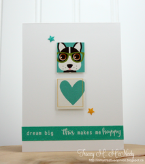 Happy Card by Tracey McNeely for Jillibean Soup