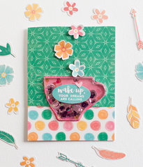 Wake Up Card by Rebecca Keppel