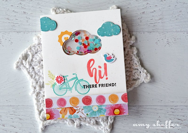 Hi! There Friend! Card by Amy Sheffer