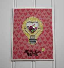 Thinking About You Card by Tracey McNeely