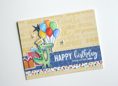 Happy Birthday Card by Jaclyn Rench for Jillibean Soup