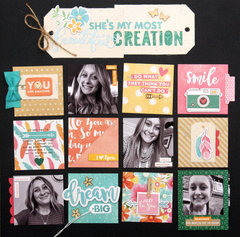 Beautiful creation Layout by Summer Fullerton for Jillibean Soup