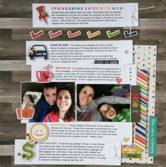 Dates With Mom Layout by Jaclyn Rench for Jillibean Soup