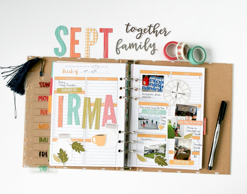 September Planner Pages by Wendy Antenucci