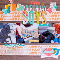 Happy Birthday Boys by Rebecca Keppel