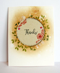 Thanks Card by Nicole Nowosad