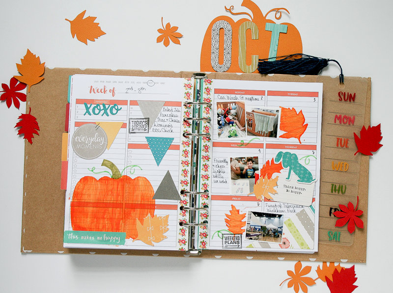 October Planner by Wendy Antenucci
