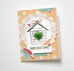 Home Sweet Home Card by Wendy Antenucci