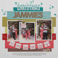 Christmas Jammies Layout by Summer Fullerton