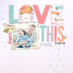 Love This Photo Layout by Amy Coose
